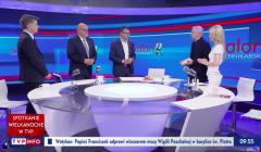 Modlitwa w programie Slon dziennikarski w TVP Info