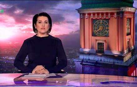 Główne wydanie Wiadomości TVP