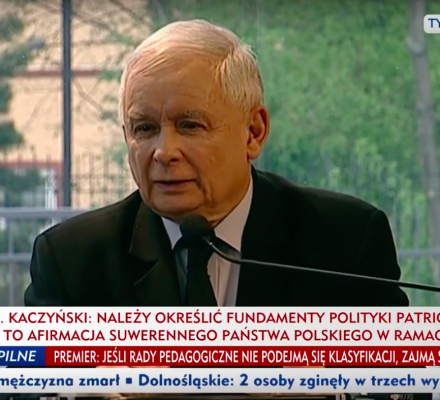Kaczyński: LGBT zagraża Polsce. Biskup Mering: Chciałbym, żeby czuł się pan między nami człowiekiem podziwianym