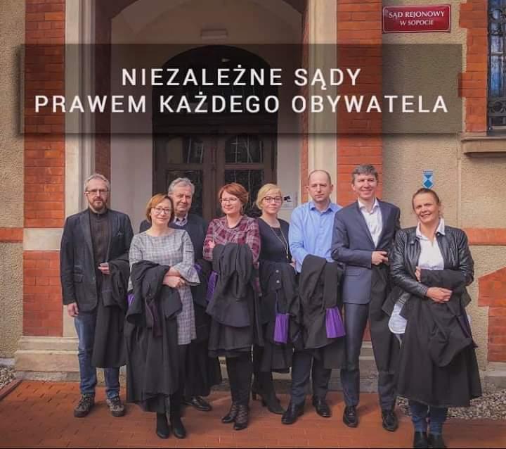 Judges in Sopot