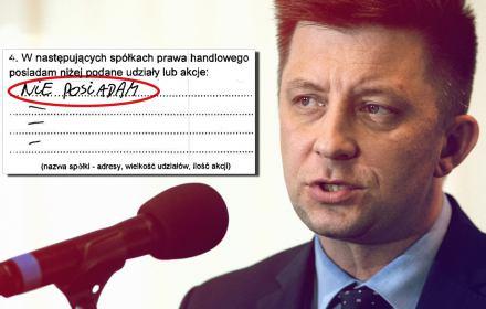 Od 120 dni KPRM nie odpowiada nam, jak Morawiecki ukarał Dworczyka za fałszywe oświadczenia majątkowe