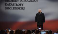 Obchody 9 . rocznicy katastrofy smolenskiej w Warszawie