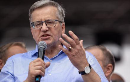"""Komorowski: Wyborcy PiS """"nie płacą podatków"""". A to bogaci, nie ubożsi, płacą niższe podatki"""