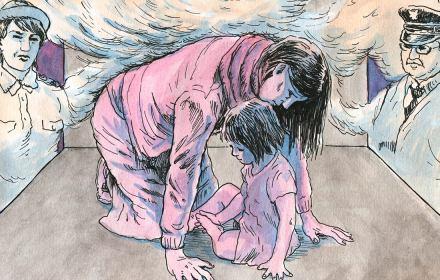 Czeczenka z córką