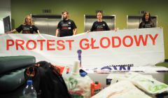 Protest diagnostów i fizjoterapeutów