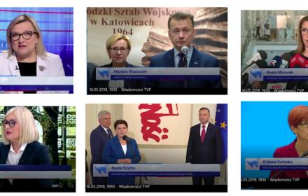 Wiadomości TVP, źródło: Towarzystwo Dziennikarskie