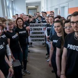 Fizjoterapeuci protest