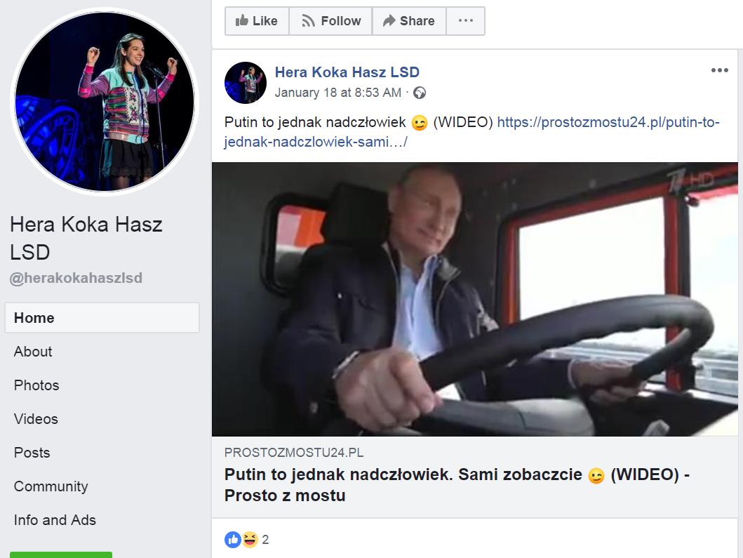 niska cena najlepsze ceny 50% zniżki Rosyjski cień nad polskim FB. Siatka dystrybucji fake newsów ...