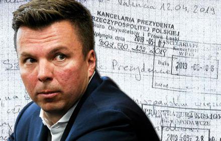 """List(a) Falenty. OKO.press i """"Wyborcza"""" ujawniają cały list skazanego biznesmena do Andrzeja Dudy"""
