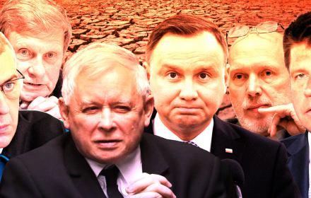 Kaczyński, Balcerowicz i Giertych na liście wstydu. Kto w Polsce negował katastrofę klimatyczną