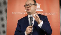 15.03.2019 Poznan , Rzecznik Praw Obywatelskich Adam Bodnar na spotkaniu z mieszkancami Poznania .