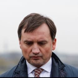 21.03.2019 Krakow , Bulwar Kurladzki , okolice Wawelu . Konferencja prasowa Zbigniewa Ziobro i Patryka Jakiego.