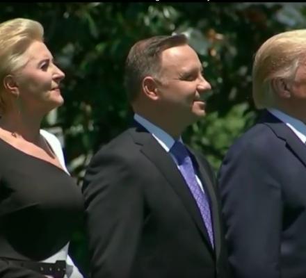"""Kuriozalne wypowiedzi Trumpa o Polsce. """"Ciągle dostają po głowie"""