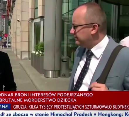 Synem w Bodnara. TVP nie ustaje w ataku na Rzecznika Praw Obywatelskich