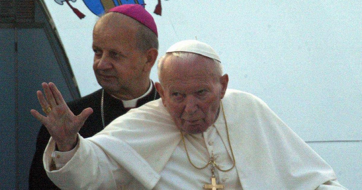 Jan Paweł II i Stanisław Dziwisz
