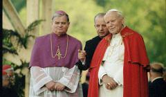 Biskup Rakoczy i Jan Paweł II