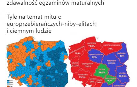 Mapy od czapy. Czy rzeczywiście dzielimy się na RFN i NRD?