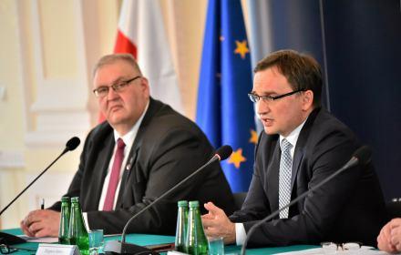 Bogdan Święczkowski i Zbigniew Ziobro