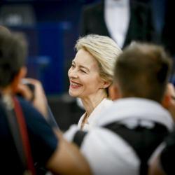 Ursula Von der Leyen pierwszą kobietą na stanowisku szefa Komisji Europejskiej, 16 lipca 2019,fot. Mathieu CUGNOT © European Union 2019 - Source : EP