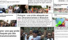 Media zagraniczne o paradzie w Białymstoku