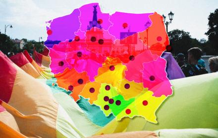 Okażmy solidarność z osobami LGBT+! Interaktywna mapa wydarzeń w całej Polsce