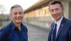 Robert Biedroń, Maciej Gdula, fot. Wiosna