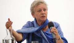 01.06.2019 Krakow , Muzeum MOCAK . Monika Platek . Projekcja i dyskusja o filmie