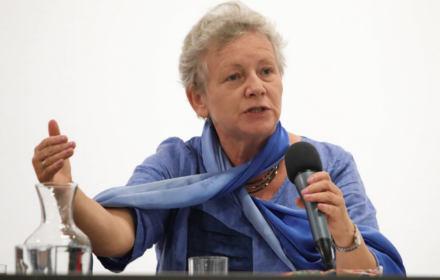 """01.06.2019 Krakow , Muzeum MOCAK . Monika Platek . Projekcja i dyskusja o filmie """" Dobra Zmiana """"."""