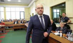 Ponowny wybor Artura Kosickiego na stanowisko marszalka wojewodztwa podlaskiego w Bialymstoku