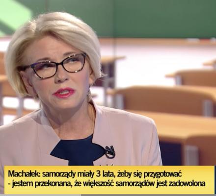 Machałek, uczennica Zalewskiej: samorządy i dyrektorzy ciesząsię, że mają więcej uczniów w liceach