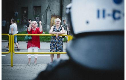 Siedlecka ostrzega: Rozkręca się spirala przemocy