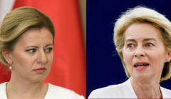 Zuzana Caputova, Ursula Von der Leyen