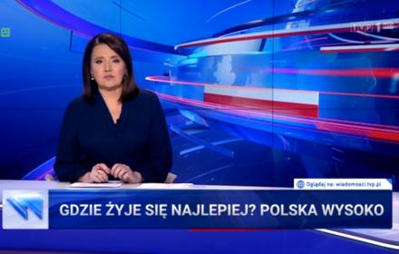 Polska 13. najlepszym krajem do życia? Nawet Morawiecki wie, że nie o to chodzi, ale TVP swoje