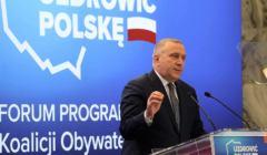 Grzegorz Schetyna przedstawia program wyborczy