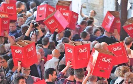 Kryzys u niemieckich socjaldemokratów. Poparcie spadło o połowę, przywódcy rezygnują