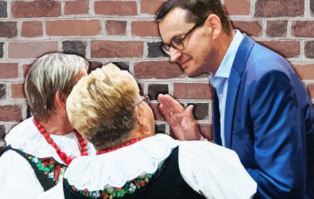 Morawiecki: Polki murem dla