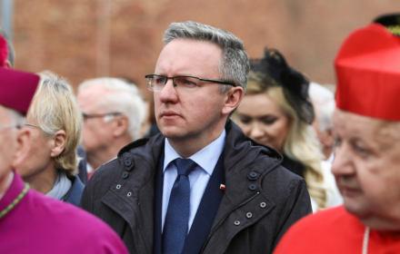12.05.2019 Krakow . Procesja ku czci swietego Stanislawa z Wawelu na Skalke . nz Krzysztof Szczerski