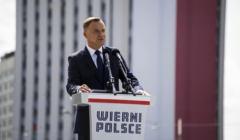 Defilada Wierni Polsce w Katowicach