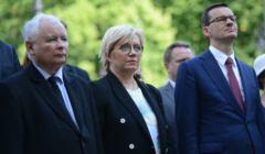 Odsloniecie kamienia wegielnego pod pomnik premiera Jana Olszewskiego przed KPRM
