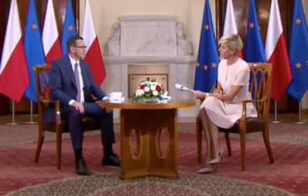Morawiecki w TVN24: Mówmy o faktach. Minister Ziobro nie wiedział, bo mi tak powiedział