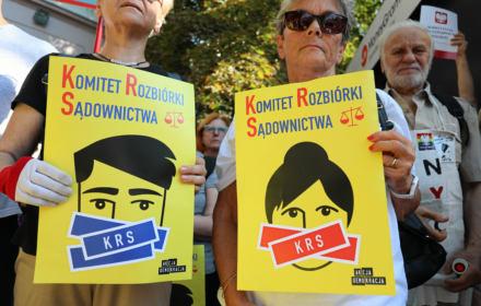 Sędziowie z Europy wzywają Sejm do ujawnienia list poparcia dla członków nowej KRS