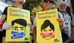 Protest przed KRS, Europejska Rada Sądownictwa wyklucza neo KRS