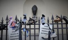 protest przeciw kryciu pedofili w Kościele