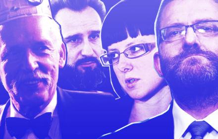 Jobbik czy Monty Python? Jak Korwin, Jurek, Liroy i Kolonko do Sejmu szli