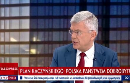 Karczewski: podwyżki płacy minimalnej za PiS takie jak w latach 90. Tłumaczymy manipulację