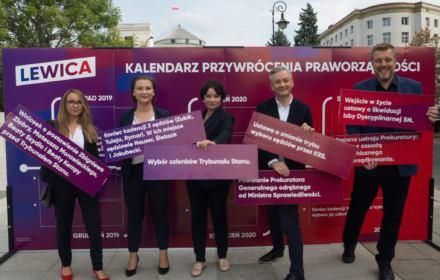 Lewica ma program naprawy TK, SN i KRS. Zapowiada Trybunał Stanu dla Morawieckiego i Ziobry