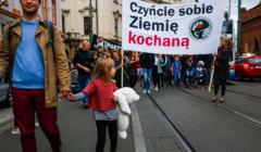 Marsz dla Ziemi w Krakowie