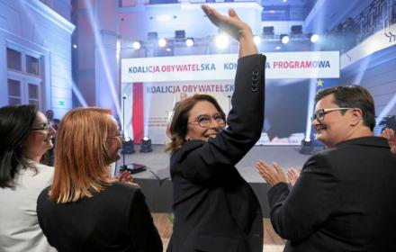 Uśmiechnięta Polska Kidawy-Błońskiej. Koalicja Obywatelska zaczęła słuchać swoich wyborców