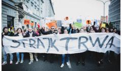 Demonstracja nauczycieli