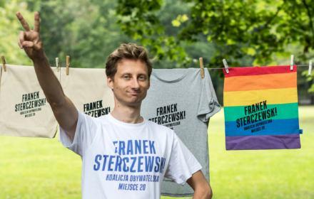 Franek Sterczewski, kandydat Koalicji Obywatelskiej w Poznaniu